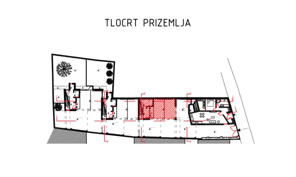 Tlocrt - PLOR Invest - Prodaja stanova u centru Varaždina
